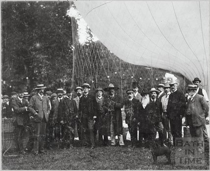 Balloon Ascent, Sydney Gardens, Bath 1902