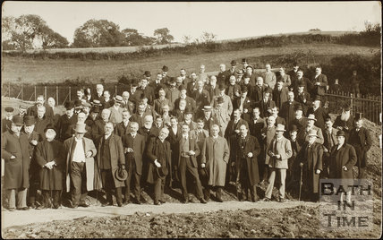 Opening of Monkswood Reservoir, St. Catherine 1895