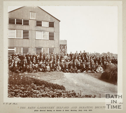 The Bath Gardeners Self Aid and Debating Society 1905
