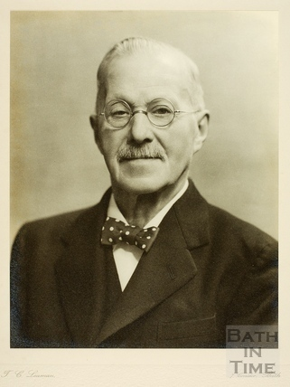 Mr. H.C. Lavington. Initiator of the Bath Hospital Scheme