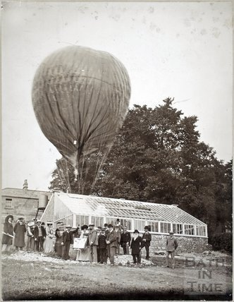 Balloon Ascent at the Mount, Batheaston