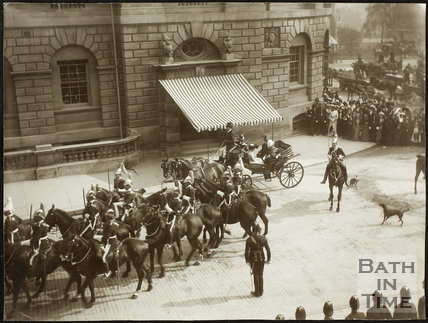 Visit of Lord Roberts to Bath 1902