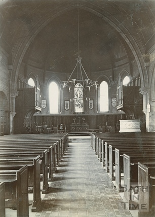 Interior of St. Peter's Church, East Twerton, Bath c.1890