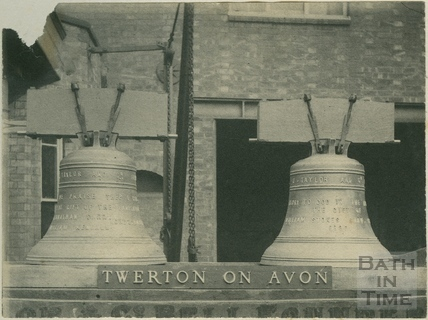Two new bells added, St. Michael's Church, Twerton, Bath 1886