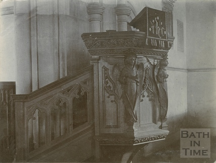 Pulpit, St. Michael's Church, Twerton, Bath