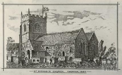 St. Michael's Church, Twerton, Bath 1837