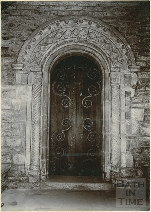 Norman Doorway, St. Michael's Church, Twerton, Bath