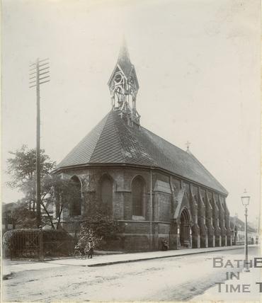 East exterior, St. Peter's Church, East Twerton, Bath c.1890