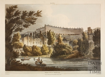 Bathwick and Ferry, Bath 1805