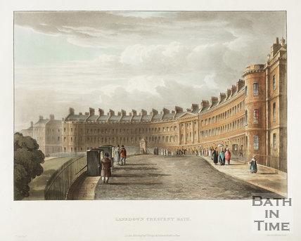 Lansdown Crescent, Bath 1820