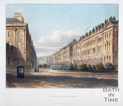 Pulteney Street, Bath 1820