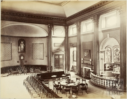 Interior of the Grand Pump Room, Bath c.1895