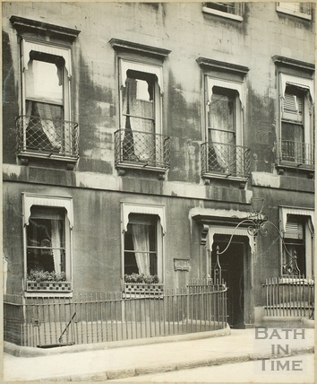 Admiral Phillip's house, 19, Bennett Street, Bath