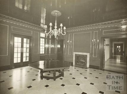 Entrance lobby, Royal United Hospital, Bath c.1930