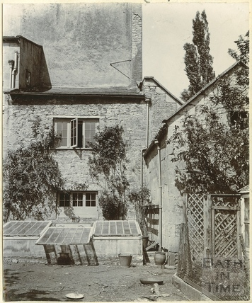 Third of three views of the Old Vicarage, Twerton, Bath c.1900