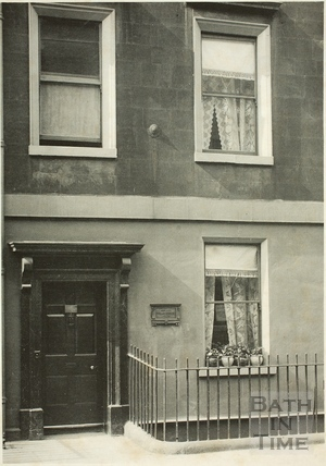 Sir William Herschel's house, 19, New King Street, Bath