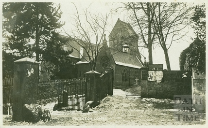 St. Michael's Church, Monkton Combe c.1909
