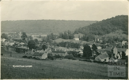 View of Monkton Combe c.1938