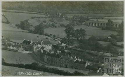 View of Monkton Combe c.1910