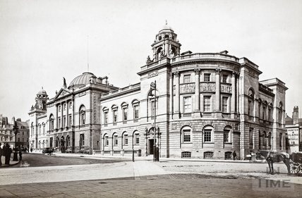 General view, Guildhall, Bath c.1900