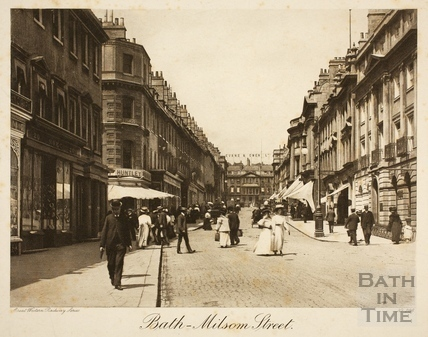 Milsom Street, Bath c.1900