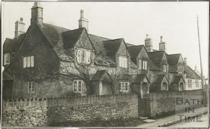 Almshouses, Neston, Wiltshire 1929
