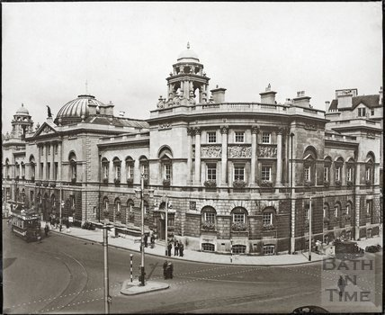 General view, Guildhall, Bath c.1925