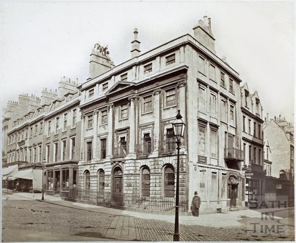 Corner of Milsom Street and Green Street, Bath c.1875