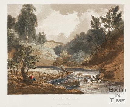 Scene below Wick Rocks 1824