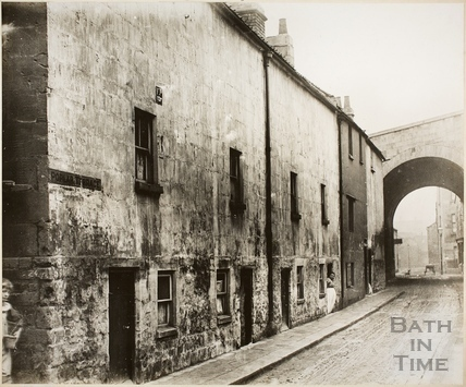 Poplar Terrace, Middle Lane (now Broadway), Dolemeads, Bath c.1906