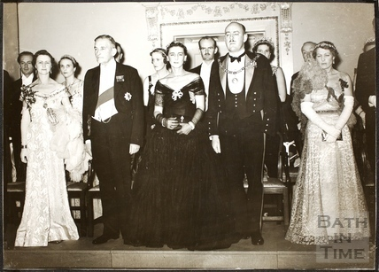 Opening of the restored Assembly Rooms, Bath 1938