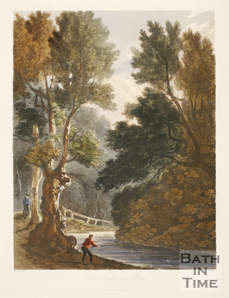 Castle Combe near Bath 1824