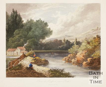 Scene at Midford near Bath No. 15