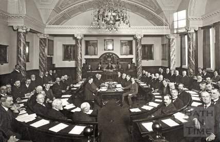 Bath City Council, Guildhall, Bath 1911