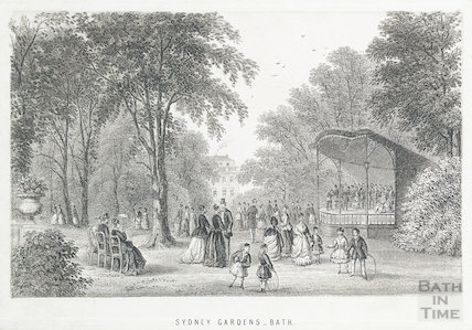 Sydney Gardens, Bath c.1870?
