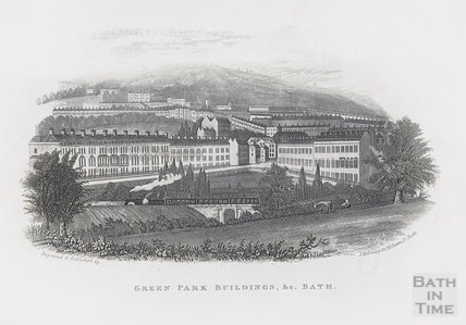 Green Park Buildings &c., Bath c.1846