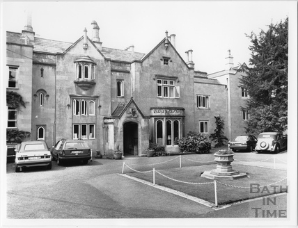 The Priory Hotel, Weston, Bath 1988
