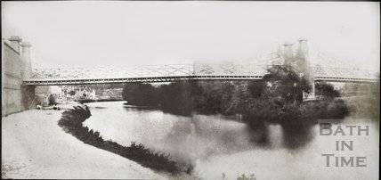 Combined panorama of Motley's Bridge, Bath 1849
