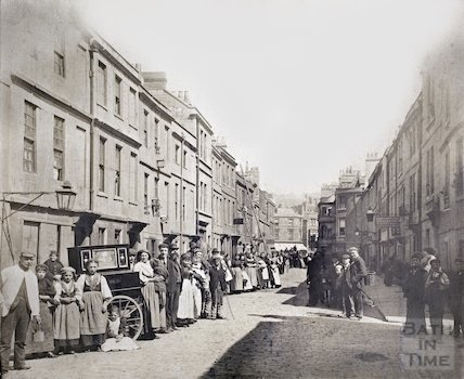 Avon Street, Bath (without signature) c.1880