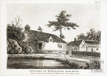 Cottages at Batheaston 1797