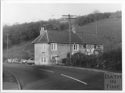 Turnpike Cottage, Gloucester Road, Swainswick c.1982