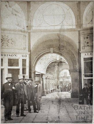 Inside the New Bath Market, Bath c.1863