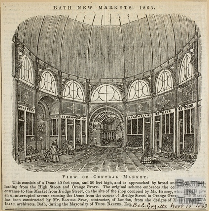 Bath New Markets, Bath 1863