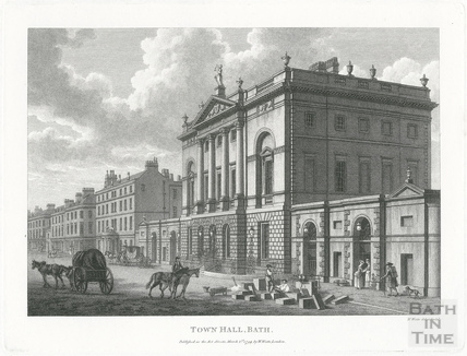 Town Hall now the Guildhall, Bath 1794