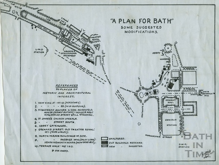 A Plan for Bath August 1945