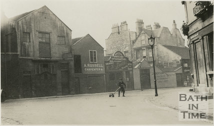 Henry Street from Manvers Place, Bath c1915