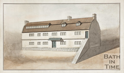The Old Walcot Poor House, London Road, Bath c.1820