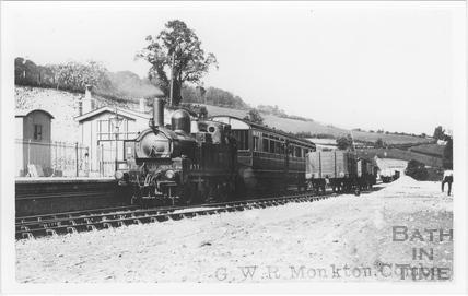 G.W.R. Monkton Combe Station c.1920