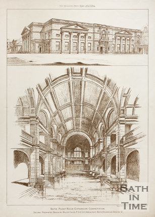 Pump Room Extension Competition, Bath 1894