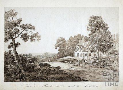 View near Bath on the Road to Hampton (Bathampton)